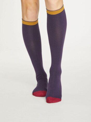 κάλτσες από μπαμπου - colour block