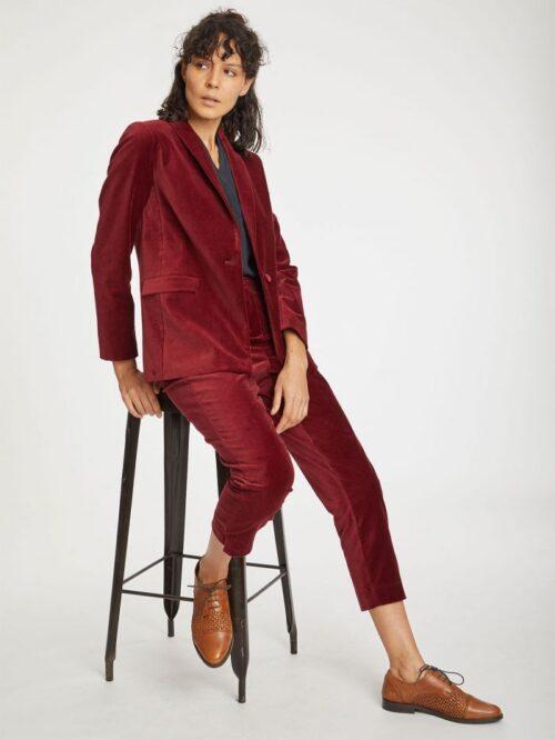dark-cranberry-red-organic-cotton-velvet-blazer-jacket-3