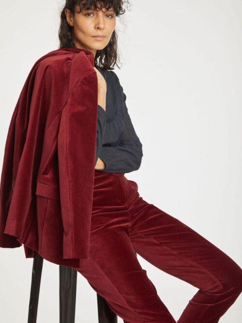 dark-cranberry–red-organic-cotton-velvet-blazer-jacket–5