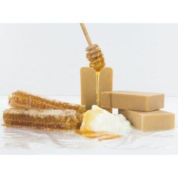 οργανικο σαπουνι με μελι και μελισσοκερι