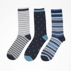 Spot-Stripe-Bamboo-Socks-Pack-in-Multi-1