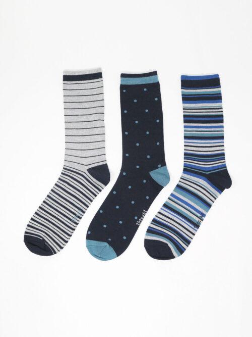 SBM5575-MULTI–Harrison-Spot-_-Stripe-Bamboo-3-Socks-Pack-in-Multi-2