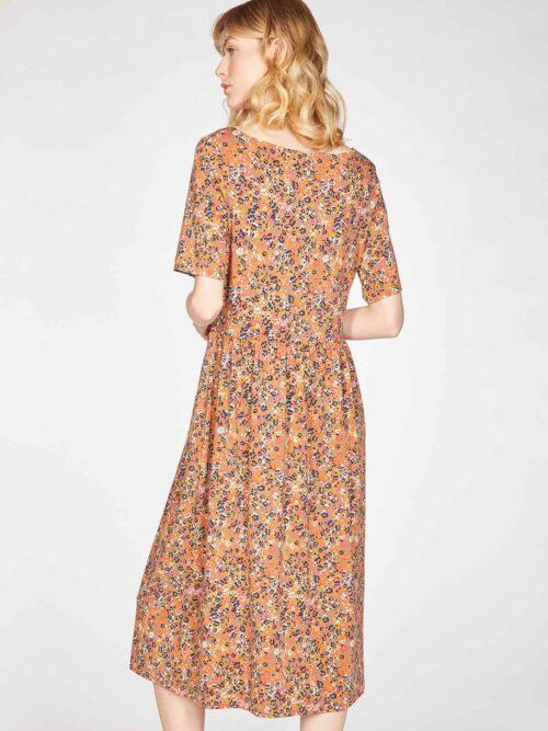 WSD5502-CINNAMON-BROWN–Antonia-Bamboo-Organic-Cotton-Jersey-Printed-Dress-in-Cinnamon-Brown-3
