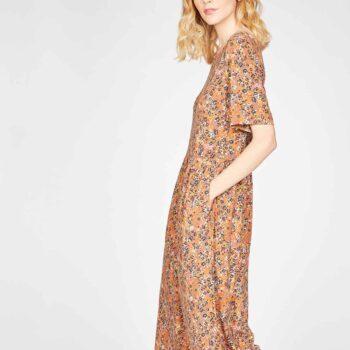 CINNAMON-BROWN--Antonia-Bamboo-Organic-Cotton-Jersey-Printed-Dress-in-Cinnamon-Brown-4
