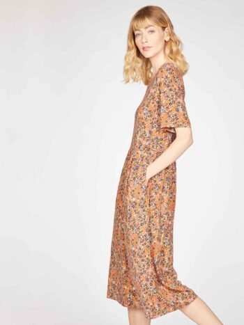 CINNAMON-BROWN--Antonia-Bamboo-Organic-Cotton-Jersey-Printed-Dress-in-Cinnamon-Brown-4
