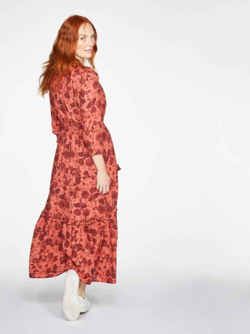 WSD5544-MULTI–Autumn-Organic-Cotton-Floral-Print-Woven-Dress-3