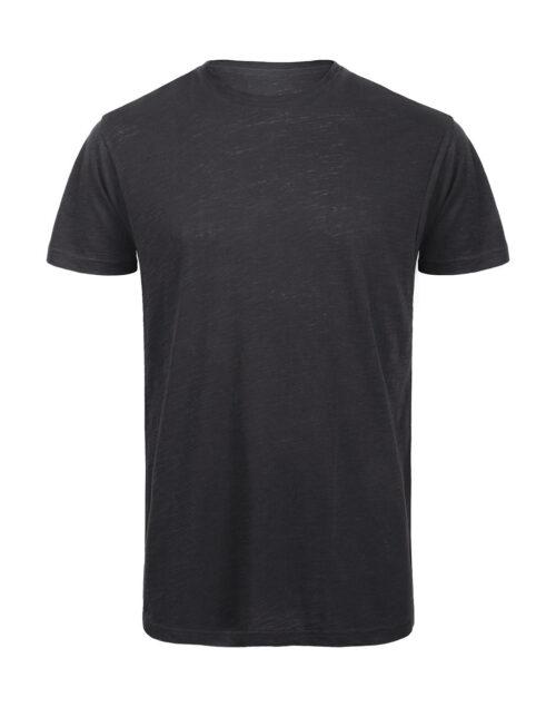 Tshirt-αντρικο-γκρι-ανθρακι-οργανικο βαμβακι